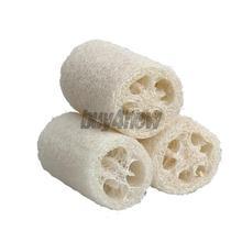 3x Natural Loofah Luffa Loofa Bath Body Shower Sponge Scrubber Small Size 1STL(China (Mainland))