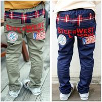 Factory direct  2014 Children's long pants  Boys clothing trousersnew children's pants Casual pants -KZ001