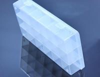 5pcs 18grids plastic Storage box Loom rubber storage box casket Nail box pill case