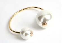 popular pearl bangle bracelet