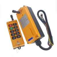 12V 4 Motions 1 Speed Hoist Crane Truck Radio Remote Control System Controller  /free shipping