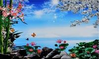 Mural tv background wall 3d landscape wallpaper libang wallpaper 38