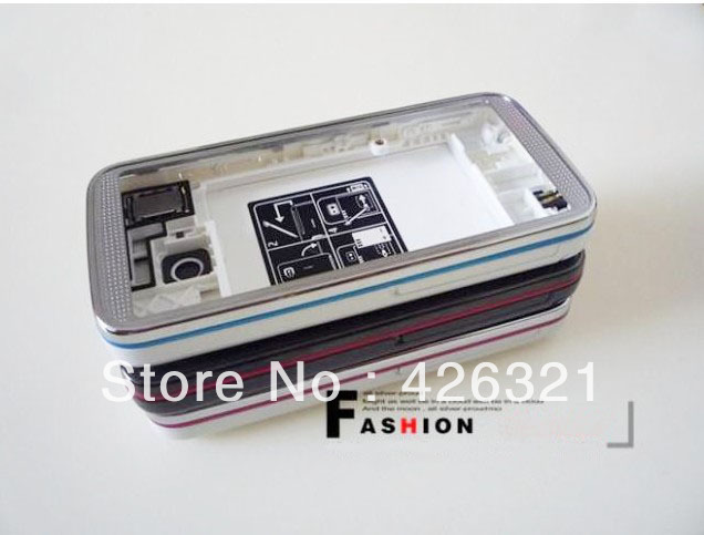 New Arrival 95 New Used Nokia 5530 mobile phone housing for Nokia 5530 with touch screen with free shipping(China (Mainland))