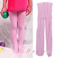Lovely Baby Girl Pantyhose Kid Leggings Stockings Velvet 1-3Years Pink  M3AO