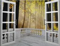 Mural tv background wall 3d landscape wallpaper libang wallpaper 10 dawnlight