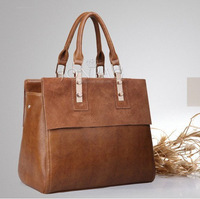 Fashion 2014  HOT SALE high quality WEIDIPOLO brand handbag women's Genuine cow Matte leather shoulder bag Free Shipping