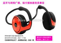 High Quality Sports Bluetooth Headset AX-698 Bluetooth V4.0 TF Card FM Headphone For iPhone Samsung Free Shipping