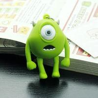 Wholesale 10pcs/lot USB Flash Drive Cartoon One-eyed Monster 4GB 8GB 16GB 32GB REAL Capacity 4G 8G 16G 32G U Disk Pen Drive