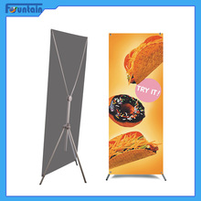 cheap banner stand size