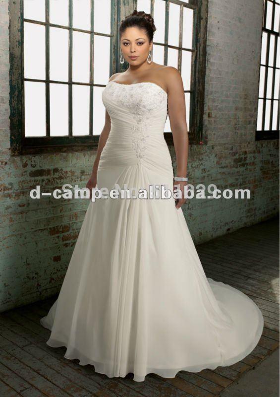 Flowing Plus Size Wedding Dresses Plus Size Wedding Dress