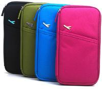2014 B versatile aircraft passport multifunction hand bag canvas travel bag passport holder package 110g p060614