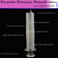 Glass Syringe With Glass Tip 100ml