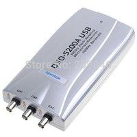 DHL Free shipping Hantek DSO5200A PC USB Digital Storage Oscilloscope 2CH 200HMz 250MSa/s