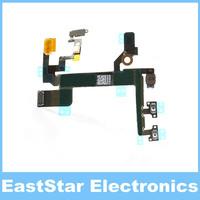 50pcs/lot,ORIGINAL!!!Power Button Flex Cable Replacement for iPhone 5S