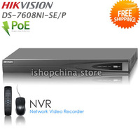 HIKVISION DS-7608NI-SE/P 8CH Economic PoE NVR with 4 Independent PoE Interfaces Up to 5MP Network Video Recorder, by DHL/EMS