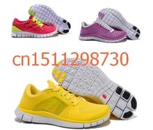 2014 summer women's shoes Free shipping Hot sale Free Run+3 5.0 Barefoot Running women's Shoes sports walking brand sneakers(China (Mainland))