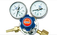 HAKIN Dual Gauge CO2 Gas Regulator, Double-Gauge Carbon Dioxide Regulator, Homebrew CO2 Cylinders Pressure Regulator