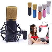 New 2014 Brand BM700 Microphone Professional Condenser Sound Studio Recording Microphone KTV Karaoke Mic Dynamic Free Shipping