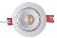 2014 new design sharp cob downlight 360 deg angle turn with 3 years warranty