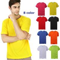 Men's Designer Quick Drying Casual T-Shirts Men Tee Shirt Slim Fit Tops cycling T-Shirts sportswear S-XXXL Free shipping #5064
