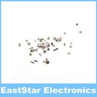 100pcs/lot,Black Full Set Screw Screws Replacement for iPhone 5S