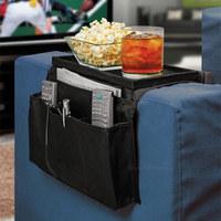 wholesale 60pcs Arm Rest Organizer  6 Pockets Sofa handrail Couch Arm Rest Organizer Remote Control Holder bag Sofa Organizer