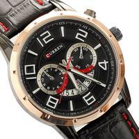 relojes para hombre clock men relogio masculino quartz big number casual curren watches men luxury brand free shipping
