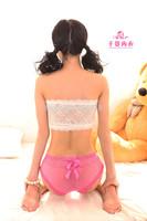 Lovely ladies underwear briefs wholesale underwear trade elastic net Women briefs