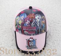 Monster high Frozen girl sofia princess 2014 new children baseball caps kids children summer hats boys girls cartoon sun hat