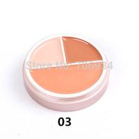 Concealer Palette Brand Makeup Contour Palette Pore Fessional 1pcs 3colors Studio Finish Concealer Camouflage Makeup Palatte1-3#