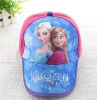 Details about 12pcs wholesales Frozen snow elsa anna rose Casual hat caps baseball cap new