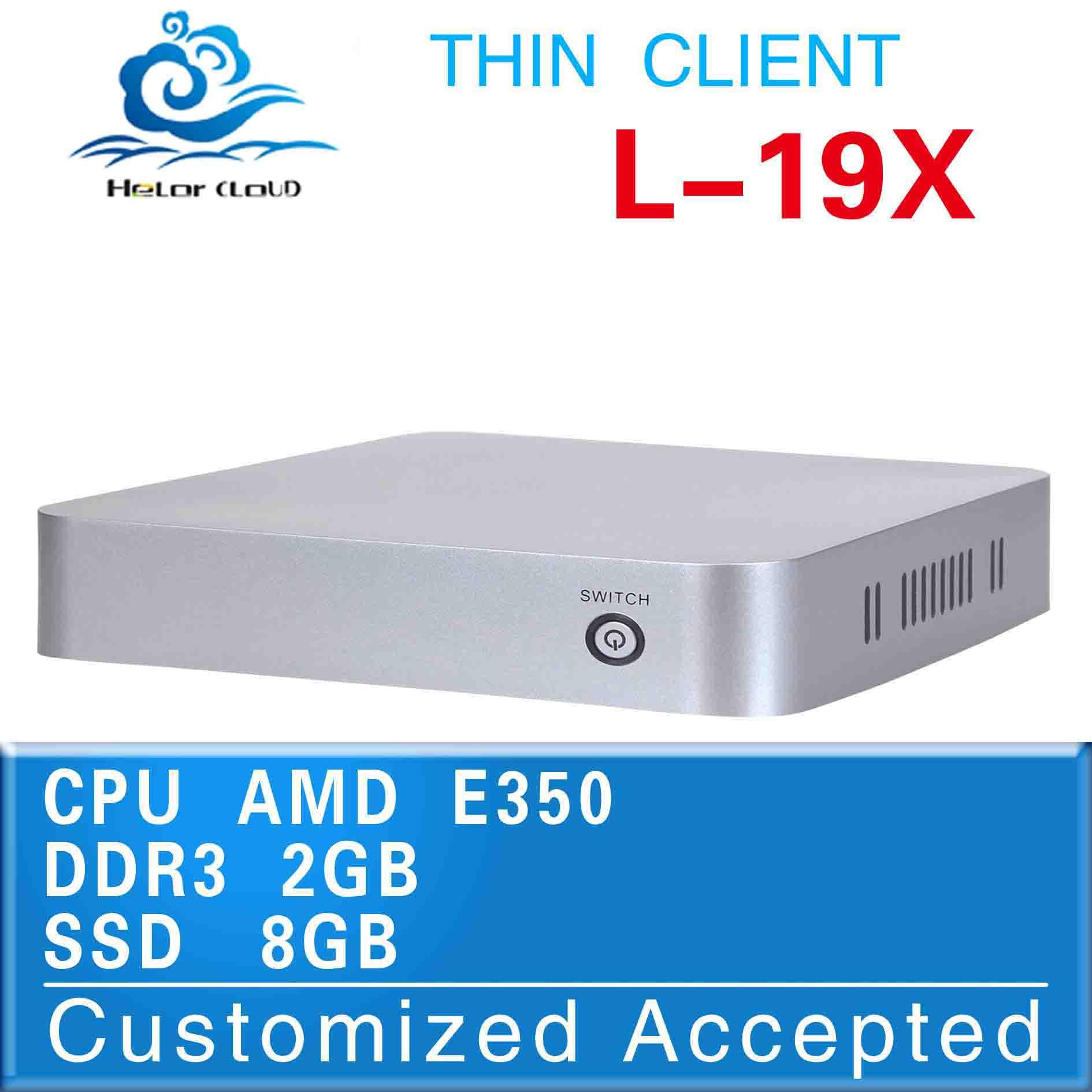 The cheapest!!!L-19x,wireless thin client,E350 mini pc,(AMD dual core 1.6GHz 4*USB2.0 1*HDMI 1.3 1*VGA 2*MIC 2*SPK)(China (Mainland))