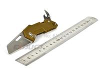 SANRENMU SRM GA-T11 Tan G10 Handle Camping Fishing Pocket EDC Folding Knife, Stainless Steel Tools,Utility Knife