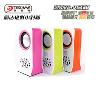 A30 mini portable multimedia speaker dual encoding 3d audio computer speakers audio subwoofer tmt