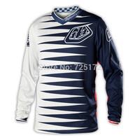 Hot sale! 2014 Troy Lee Designs TLD Jersey Sport motocross GP Youth Joker Jersey shirt Navy/White