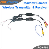2.4GHZ RCA Video Wireless Transmitter & Receiver for Rearview Camera Back Camera Parking Camera