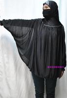 Free Shipping fashion clothing  Islamic Dubai Arabia Big Hijab  Abaya For Lady