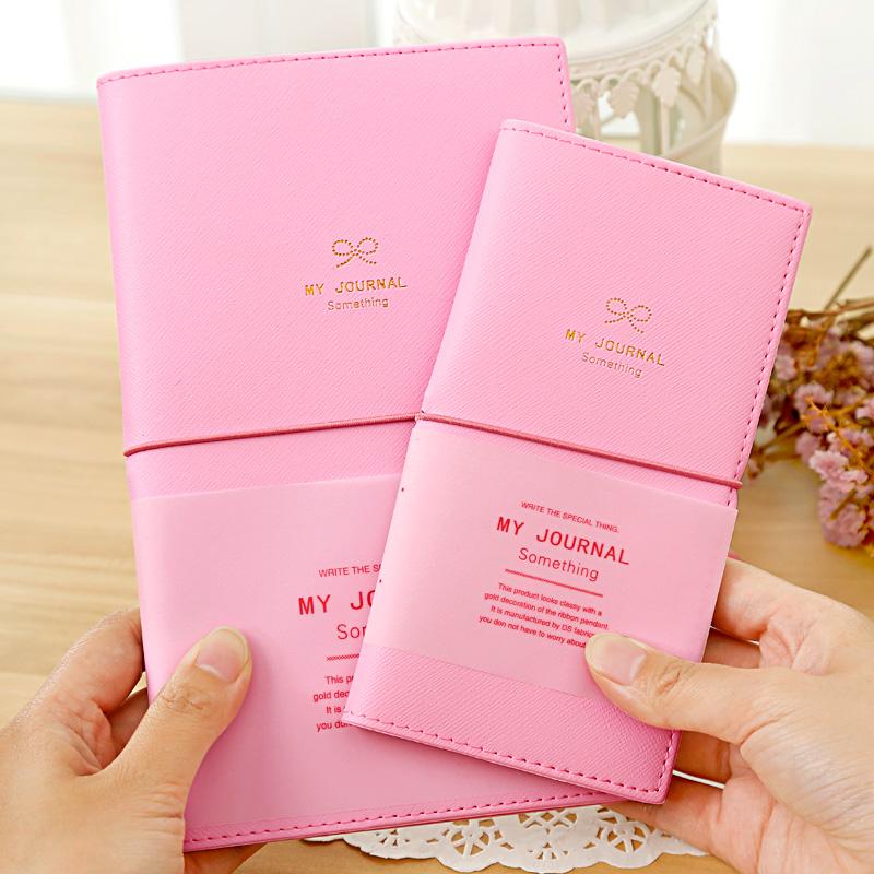 Banged creative pink note book set(2 pcs)(China (Mainland))