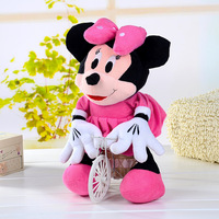 Hot Sale! Big Size Cute Mickey Mouse, Height 45CM. Valentine's Day Christmas Gifts, Plush Toys For Children. Free Shipping!