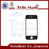 Free Shipping ! 20pcs ( black white ) For iPhone 4 4G Touch Screen Digitizer Front Outer Lens Glass Replacement Parts