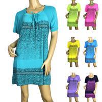 2014 new Print T-shirt Long Tops Womens Summer Tees Popular T shirt Fashion Rhinestone Pattern Big Size XXXXL Free Shipping 472