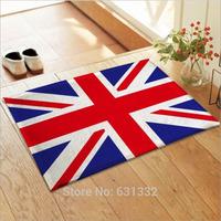 British, American, French flag carpet,Bedroom, living room floor mats non-slip mats, 50cm * 80cm Size,Free shipping