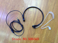 Throat Control earphone for mobile phone 3.5mm air tube headphone suit for Iphone,Samsung, etc. freeshipping