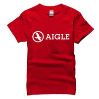 2015 summer famous outdoor brand aigle T Shirt cotton sport t-shirt man top tee casual man short sleeve plus size
