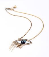 hot sales  2014 new design Fashion evil eye pendant  necklace