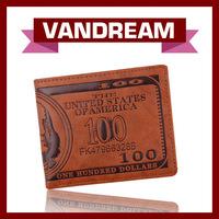 Hot sale dollar wallet New design wallet ,PU Leather Wallet,Men's  Wallet, Brand Wallet  MW-3