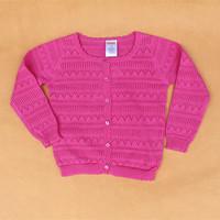 2014 new Autumn - Spring Knitting children sweater children outerwear Long sleeve O-Neck sweater girl /cardigan sweater girl/