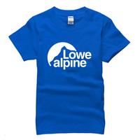 summer 2015 famous outdoor brand lowe alpineT Shirt cotton sport t-shirt man top tee casual man short sleeve plus size