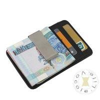 Men's Leather Wallet Credit Card ID Holder Money Clip Card Case