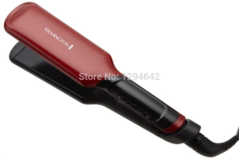 2015 NEW Red Remington S9620 Tstudio Silk Ceramic Flat Iron 2 inch High-Grade Up To 455F Digital Hair Straightener(China (Mainland))